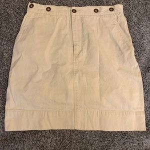 Ralph Lauren tan creamy skirt